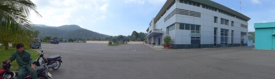 When we traveled back to the airport via motorbike to extend our flight a day (at no extra charge), the parking lot was deserted, but they still made us park in the designated motorbike area.