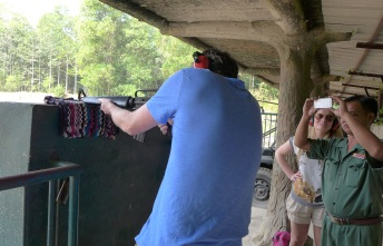 If you're too rattled from popping off shots, gun range are attendants are happy to help out with photos.