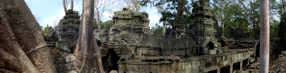 """It was easy to see why Ta Prohm was picked as a shooting location for the """"Tomb Raider"""" movie."""